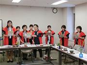 返しに姫路市連合婦人会歌を歌いました。