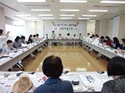 金沢市校下婦人会連絡協議会との交流会